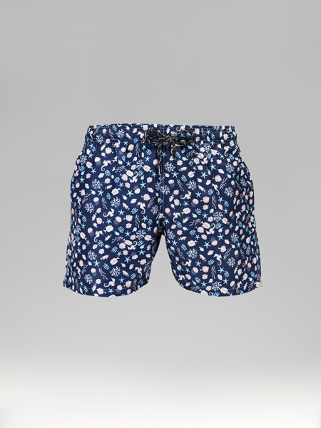 Picture of Swim Shorts with sea prints