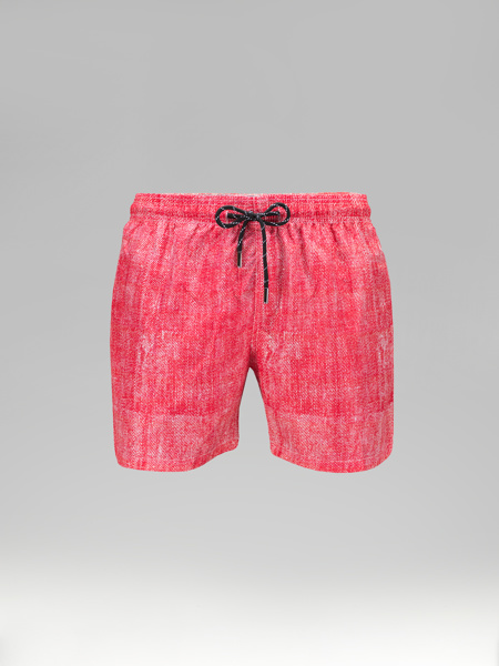 Picture of Coral Swim shorts jeans print