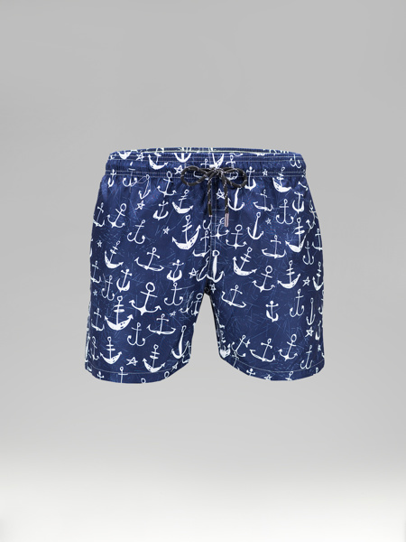 Picture of Swim shorts with anchors print