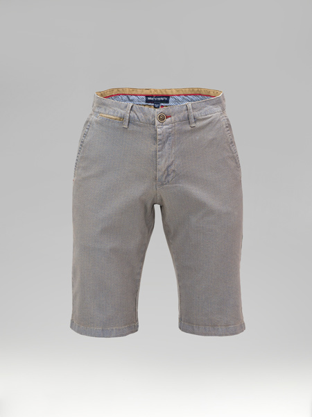 Picture of Cotton chinos shorts small jacquard