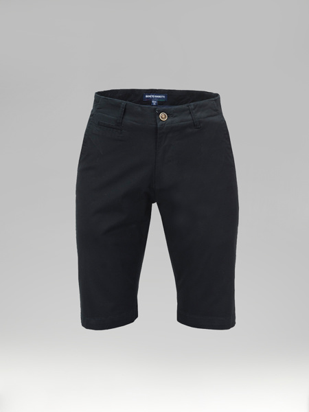 Picture of Cotton chinos shorts piping pockets