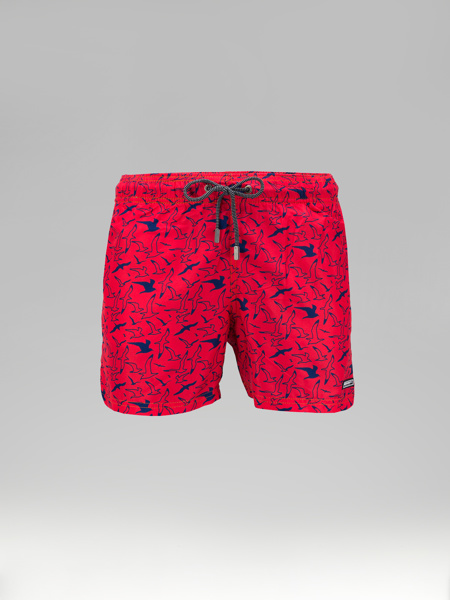 Picture of Swim shorts maritime small print