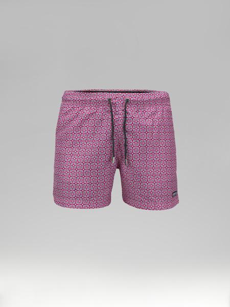 Picture of Swim shorts geometric jacquard