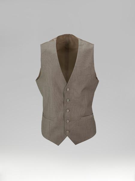 Picture of Single breasted melange vest