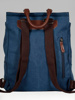 Picture of Unisex backpack for laptop with buckled flap
