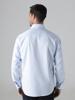Picture of Men's cotton shirt in semi cutaway collar SMART IRON FREE