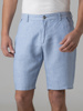 Picture of Men's linen shorts with back inner elastic waistband