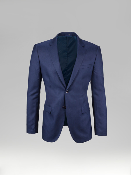 Picture of Shiny single breasted blazer jacket of suit