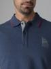 Picture of Men's polo pique shirt melange