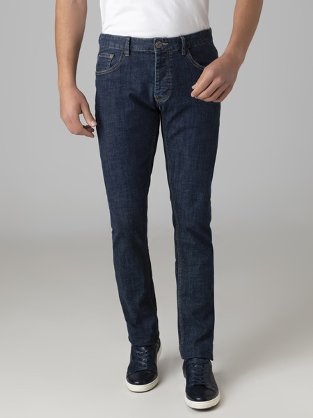 Picture of Five pocket blue jeans