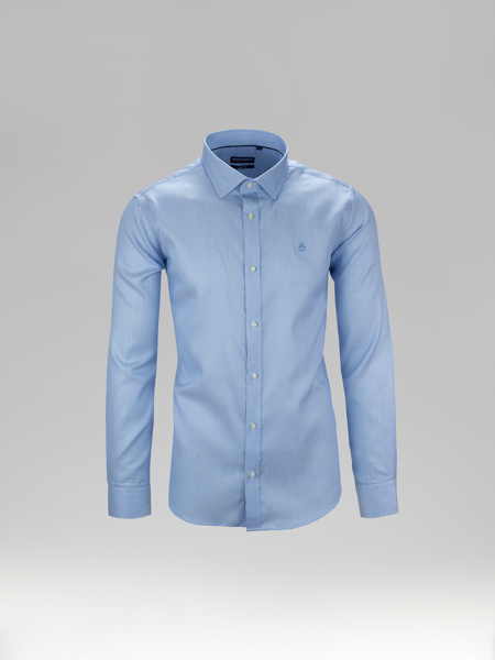 Picture of Cotton oxford type shirt