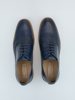Picture of Men's leather derby embossed shoes