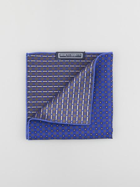 Picture of Men's Jacquard pocket square hanky