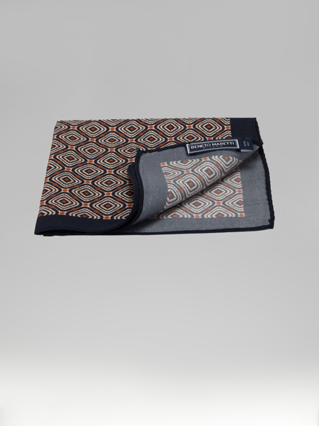 Picture of SILK JACQUARD POCKET SQUARE HANKY