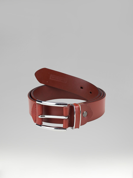 Picture of RED LEATHER BELT