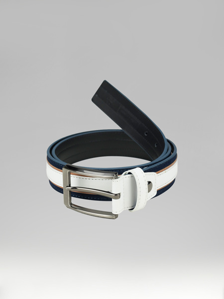 Picture of TRICHROME LEATHER BELT