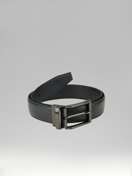 Picture of BLACK EMERGENCY LEATHER BELT
