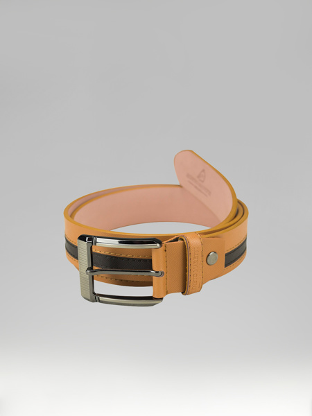 Picture of TWO COLORED LEATHER BELT