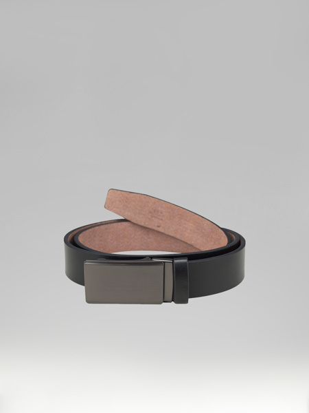 Picture of LEATHER BELT WITH METAL BUCKLE