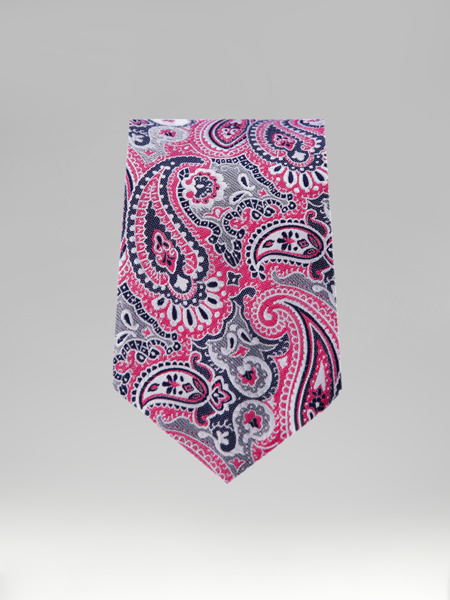 Picture of PINK EMBOSSED TIE