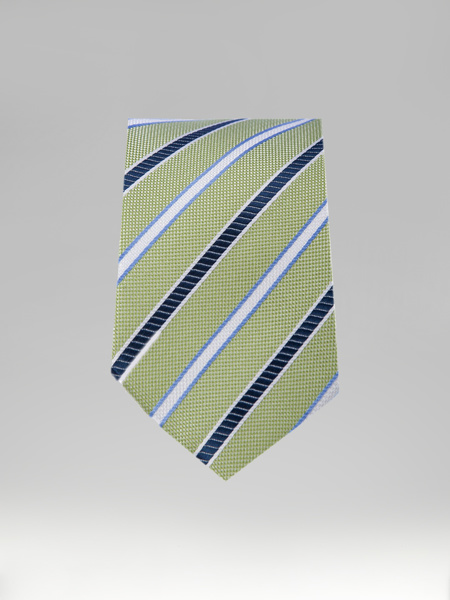 Picture of GREEN TIE WITH STRIPES