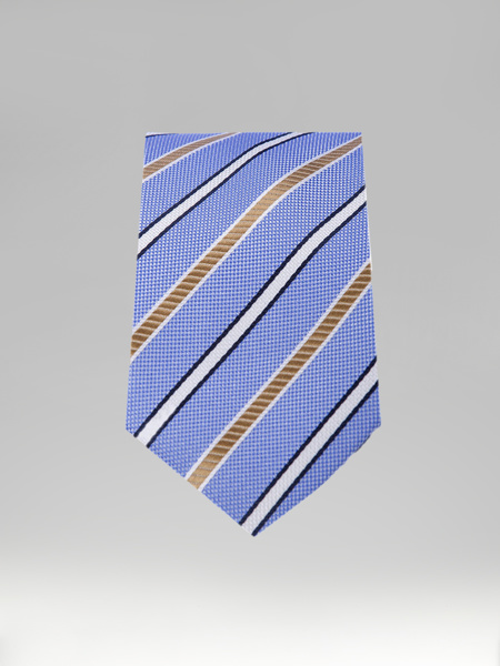 Picture of STRIPED BLUE TIE