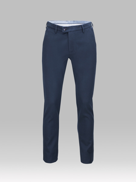 Picture of Chinos cotton pants blue