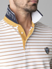 Picture of Men's striped polo pique shirt
