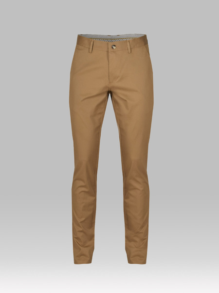 Picture of Chinos cotton pants micro jacquard weave