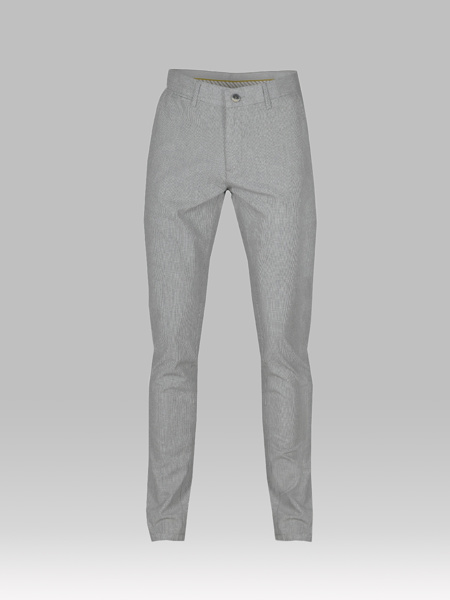 Picture of Men's chinos pants with small check