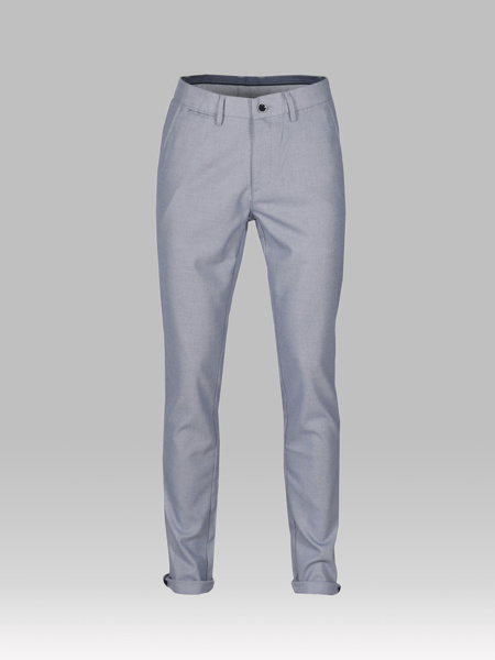 Picture of Men's chinos pants with pique weaving