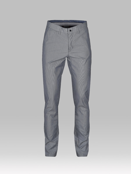 Picture of Small check chinos pants