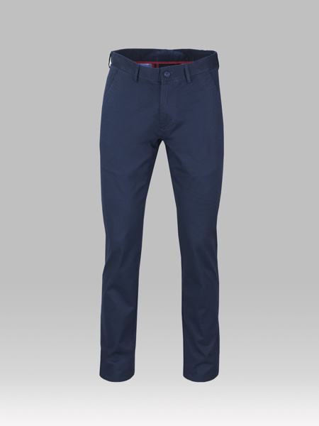 Picture of Pique chinos cotton pants