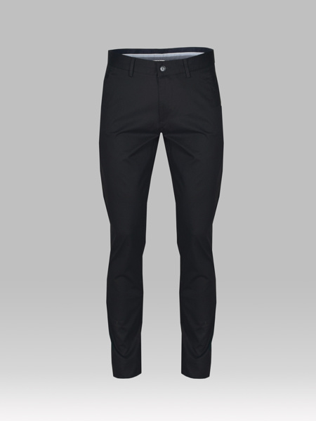 Picture of Men's chinos pants with thin corduroy weaving