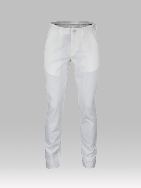 Picture of Chinos cotton pants with inner details
