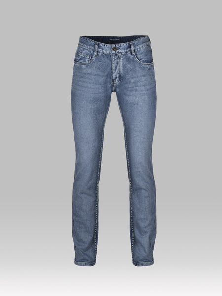 Picture of Five pocket faded jeans
