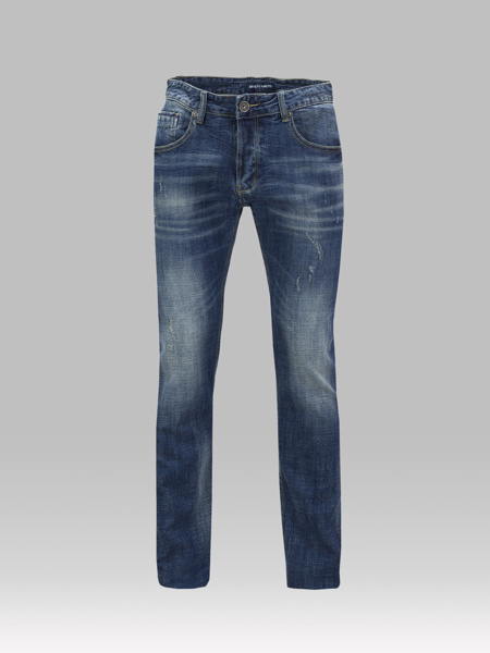Picture of Regula-fit five-pocket stretch jeans