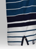 Picture of Men's striped polo pique merserised shirt