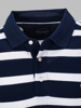 Picture of Mens cotton stripped polo pique shirt