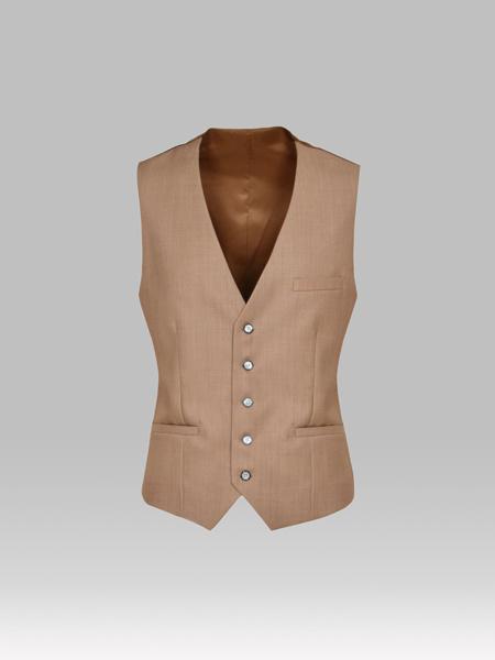 Picture of Men's Wool Blend Single Breasted Vest 'V'