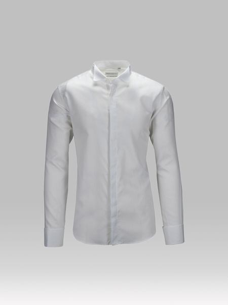 Picture of Cotton shirt tuxedo collar double cuffs