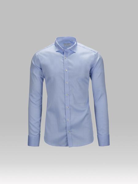 Picture of Cotton tuxedo shirt, tuxedo double cuffs