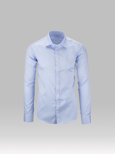 Picture of Cotton shirt semi cutaway
