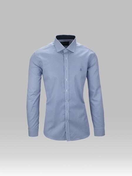 Picture of Cotton jacquard shirt