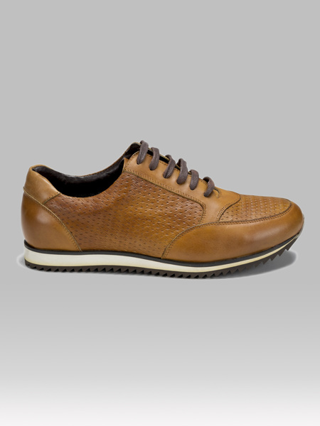 Picture of Modern men's leather sports shoes