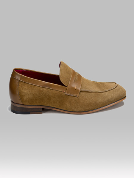 Picture of Modern suede men's loafer