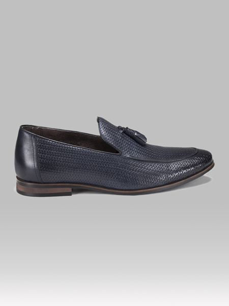 Picture of Leather mens loafer