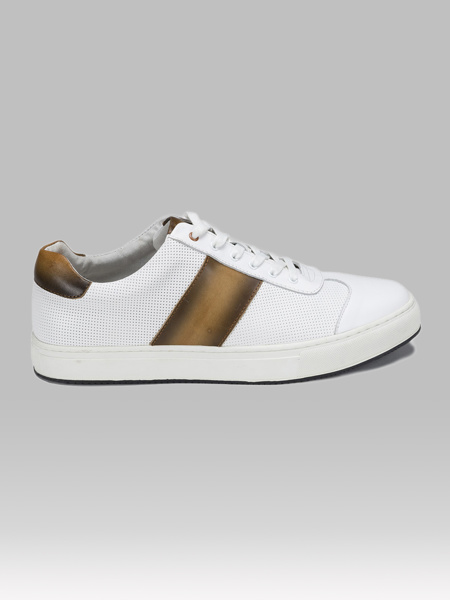 Picture of Mens leather sport shoes