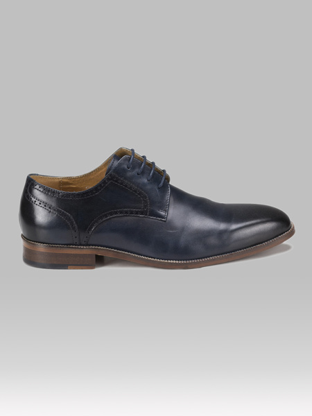 Picture of Leather men's derby shoes