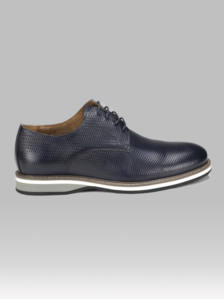 Picture of Leather mens oxford shoes